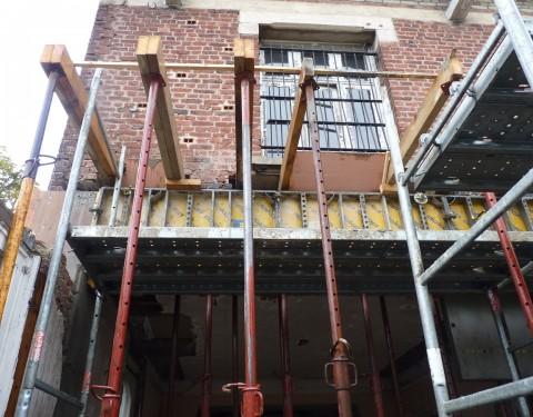 Semaine 20 – Murs porteurs déconstruits en RdC