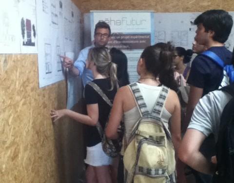130 étudiants étrangers visitent Réhafutur !
