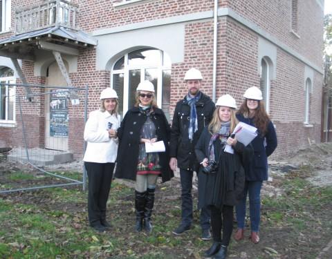 Visite de journalistes étrangers
