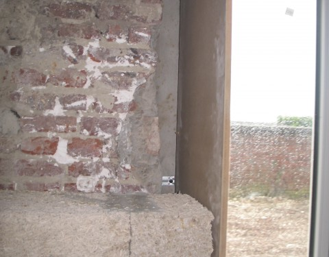 Semaine 06 – Isolation des ébrasements des menuiseries extérieures